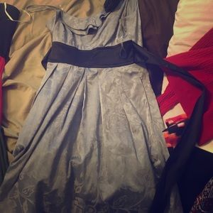 Silver/grey dress size 3,wore once