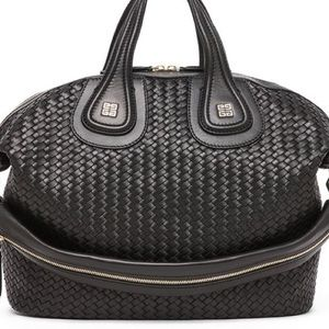 Givenchy Nightingale interweave shopping tote. NWT