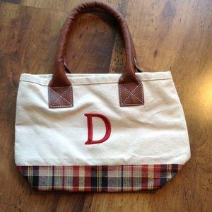 "Handbags - Small Initial 'D"" bag"