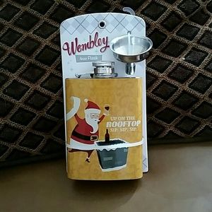 Wembley Other - Wembley 4oz Flask Collectible with Funnel BNWT