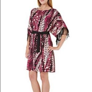 New FIFTH & PARK Dolman Sleeve Belted DRESS NWT