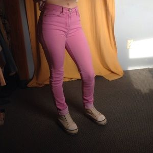 BDG Urban Outfitters Cigarette high rise jeans