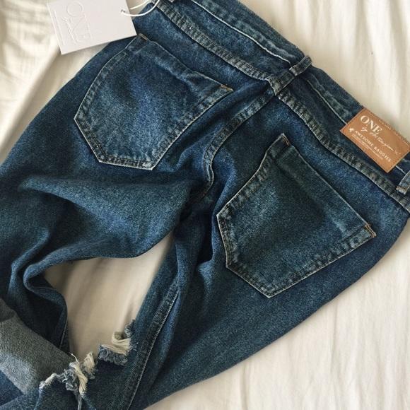 One Teaspoon Jeans - One Teaspoon Awesome Baggies in dark blue 27