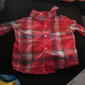 Tops - 12 months plaid long sleeve