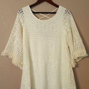 Dress/ Beach Cover Up/ Blouse