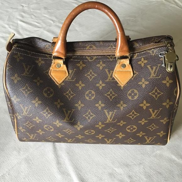 a82c686bd261e Louis Vuitton Handbags - ✨Authentic 1979 Louis Vuitton Speedy 30