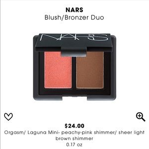 Nars Mini Blush/Bronzer Duo in Laguna and Orgasm