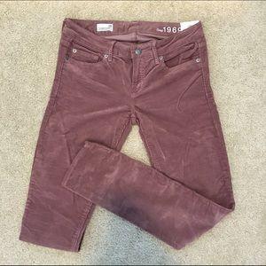 Blush Gap Skinny Cords (Size 26)