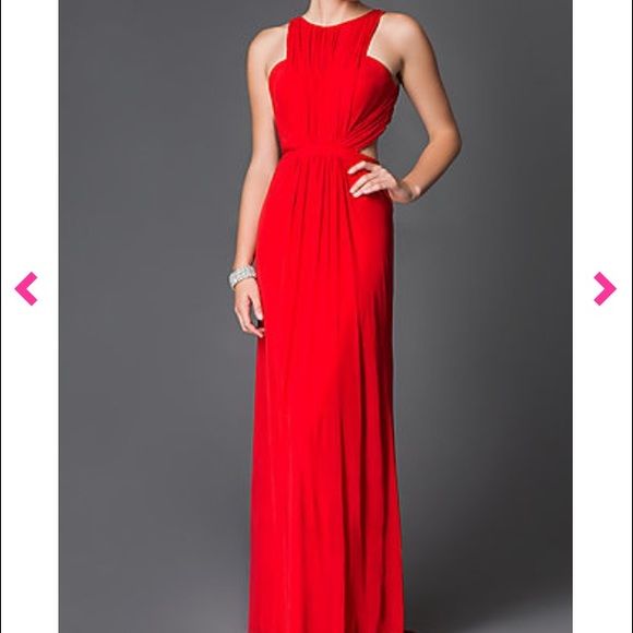 High Ruched Dress