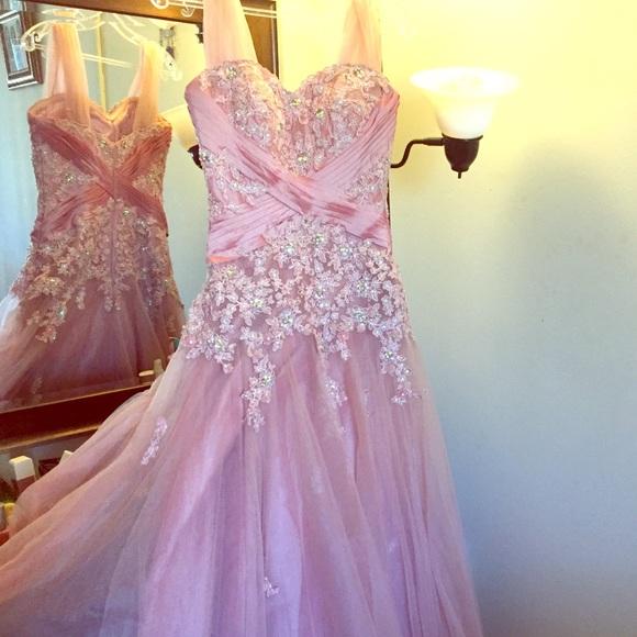 Dresses | Pastel Pink Ball Gown Dress | Poshmark