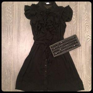 Gorgeous Sheer Ruffled Flowy Dress