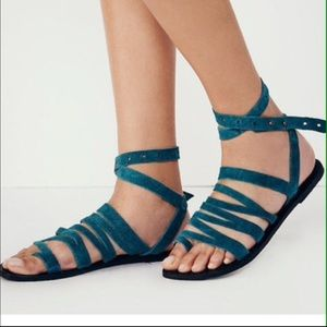 Free People Shoes - Free People Sunever Gladiator Sandals
