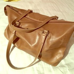 Brown Matt&nat leather bag