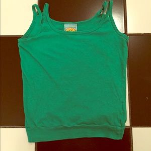C&C California Tops - C&C Kelly green tank