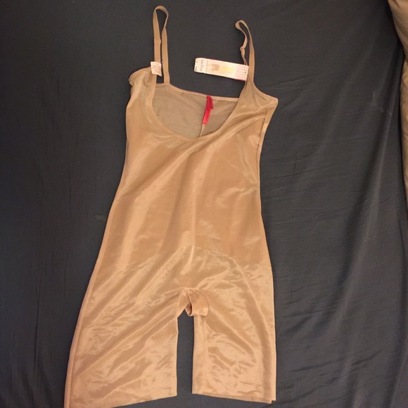 eb9c4d2eef4b8 Skinny Britches Open-Bust Mid-Thigh Body Suit
