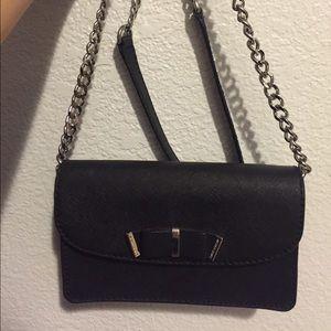 Black Michael Kors Kiera Small Crossbody Bag