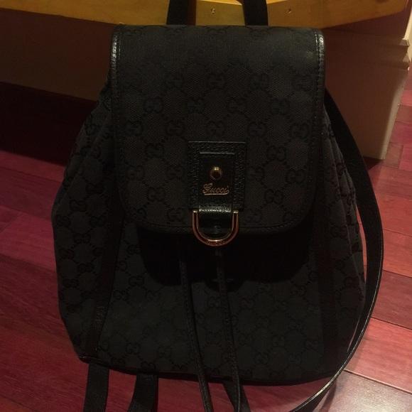 cdea1bfc61a Gucci Handbags - Vintage Gucci Backpack