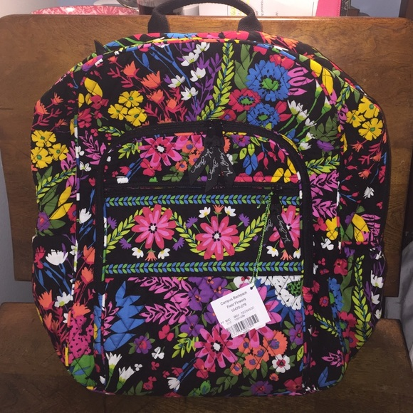 Vera Bradley Campus Backpack Field Flowers c672cad2d5a17
