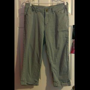 Jag Jeans Pants - Light Blue Capris