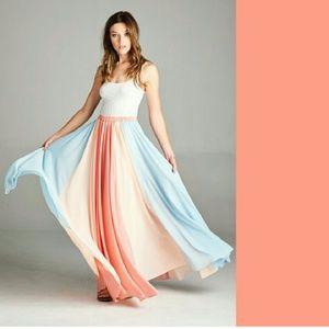 NEW | THE AURORA CO. | Daydream maxi skirt