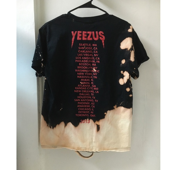 Yeezy - Yeezus distressed/bleach tee BACK IN STOCK🌹 from ...