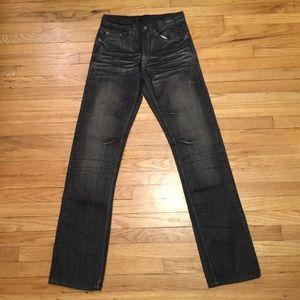 Dsquared2 men's straight leg jeans - sz 27x32