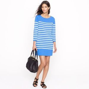 J. Crew Dresses & Skirts - NWT J.Crew Maritime Dress Striped blue white XS