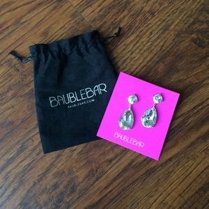 Baublebar Tear Drop post earrings