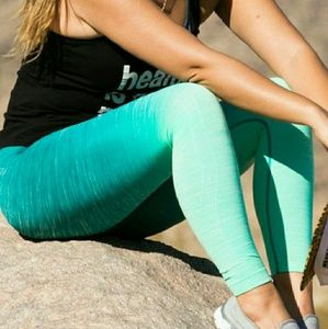 Pants - Awesome ombre workout yoga leggings