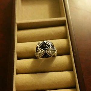 Jewelry - Pave set black diamonds
