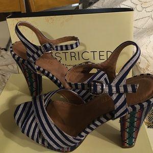Restricted Shoes - New Restricted Platform heels size 8