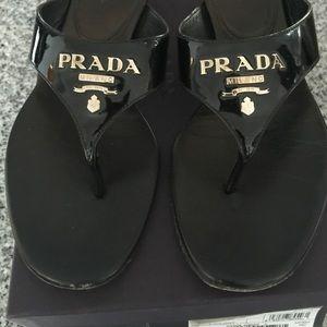 vernice prada shoes