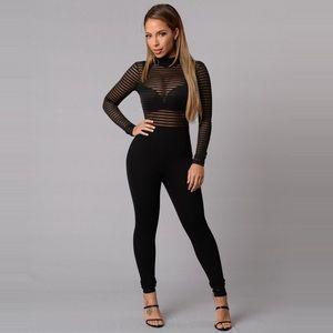 💥 FashionNova Long Shot Jumpsuit 💥