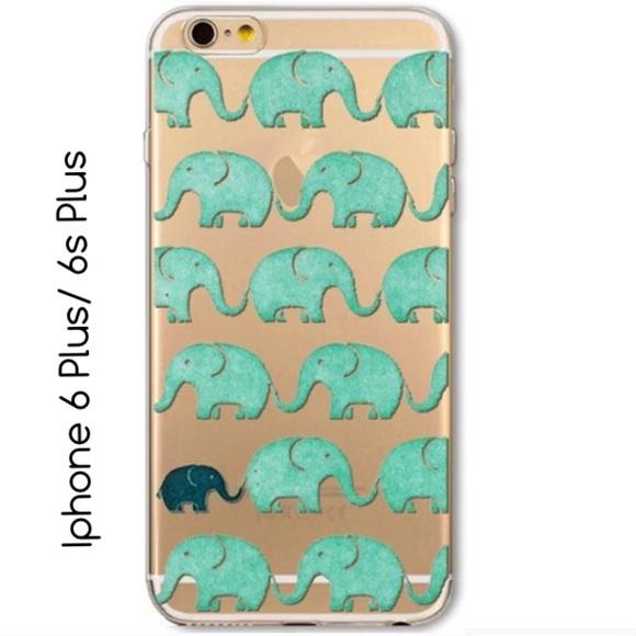 the latest 233cd 99c61 Lovely Elephant Phone Case Iphone 6 6s Plus