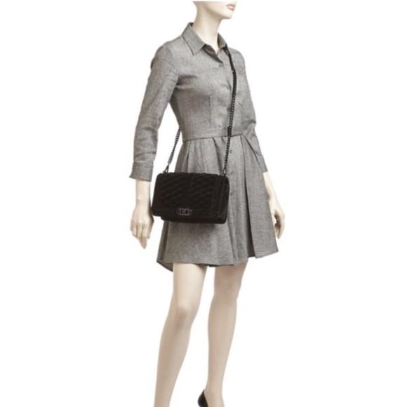 e8a4e82a5d94 Rebecca Minkoff Quilted Velvet Love Crossbody Bag
