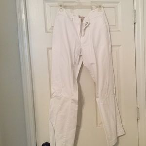 Banana republic factory store Pants - White dress pants Martin fit 10p BRFS