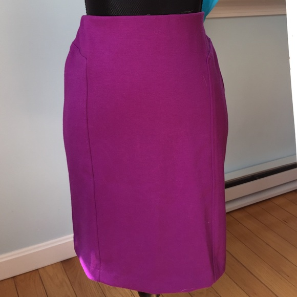 57 sandro dresses skirts magenta pencil skirt