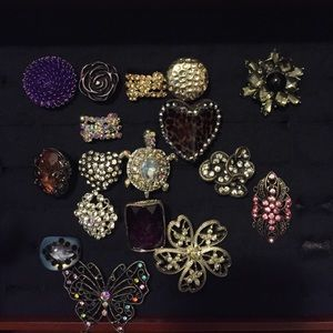 Costume jewelry- rings