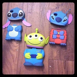 Accessories - Disney iPhone 4/4s cases: Stitch/Toy Story