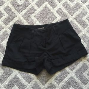 Black Express shorts- size 2