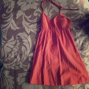 Beautiful Orange Summer Dress