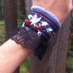 HP 6-20-16 Boho Bird of Prey bracelet