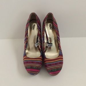 Mossimo Supply Co Shoes - Patterned wedges