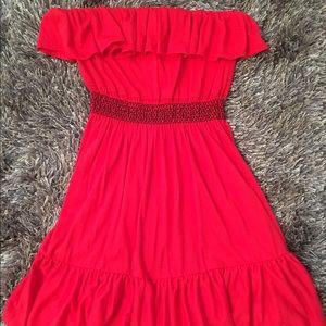 Bongo Dresses Red Spanish Style Summer Strapless Dress Poshmark,Gray And Beige Bedroom
