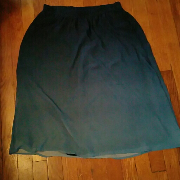 Old Navy Skirts - OLD NAVY Super Cute Ombre Hi-Lo Skirt
