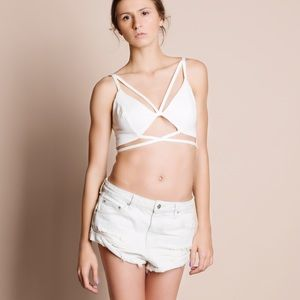Bare Anthology Tops - Caged Bralette / Crop Top