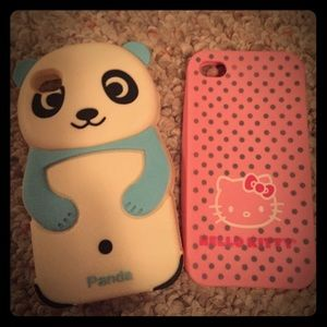 Accessories - iPhone 4/4s silicone cases
