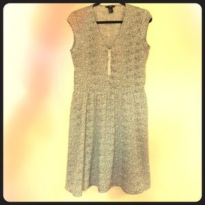 Black and white casual dress from H&M