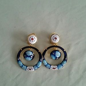 Vintage Inspired Clip-on Earrings