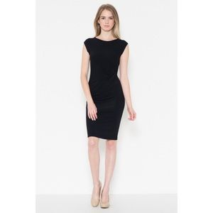 Dresses & Skirts - Black Cap Sleeve Dress